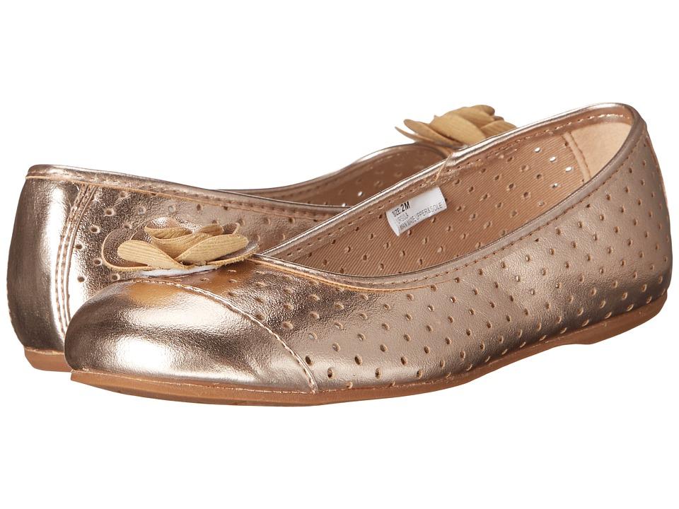 Hanna Andersson Ursula Toddler/Little Kid/Big Kid Rose Gold Girls Shoes