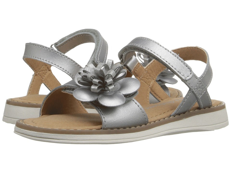 Hanna Andersson Justina II Toddler/Little Kid/Big Kid Silver Girls Shoes