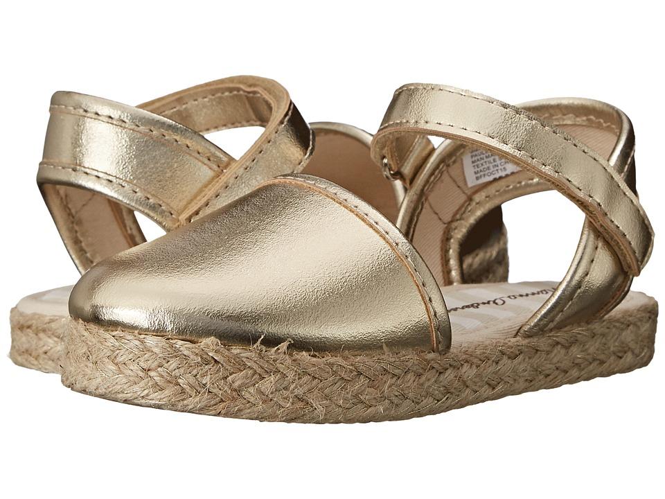Hanna Andersson Paulina II Toddler/Little Kid/Big Kid Gold Girls Shoes