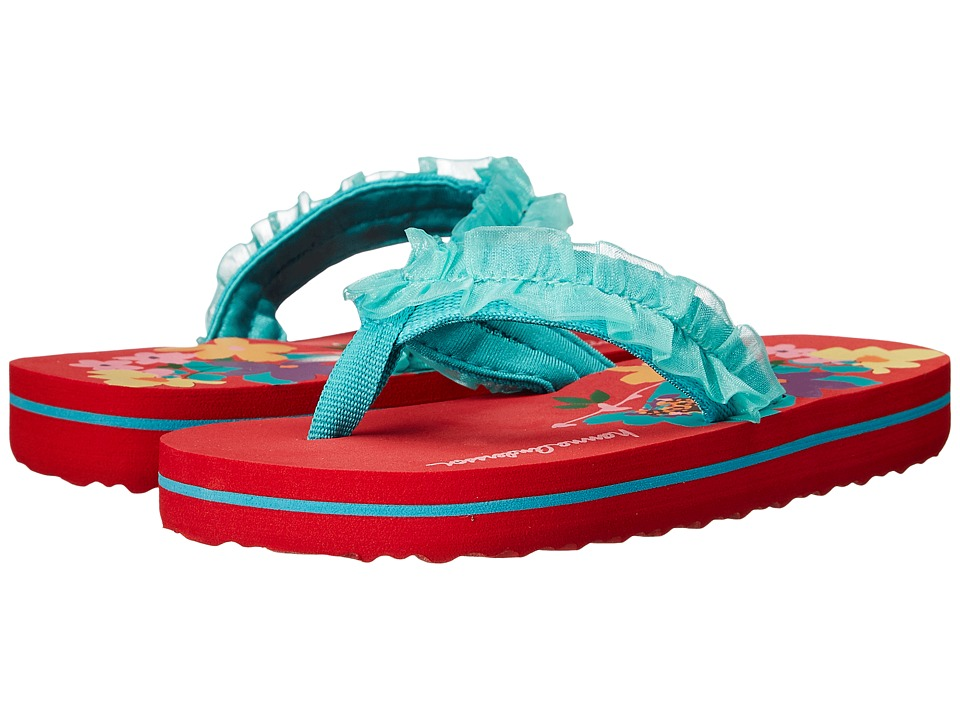 Hanna Andersson Lizzie Toddler/Little Kid/Big Kid Apple Red Girls Shoes