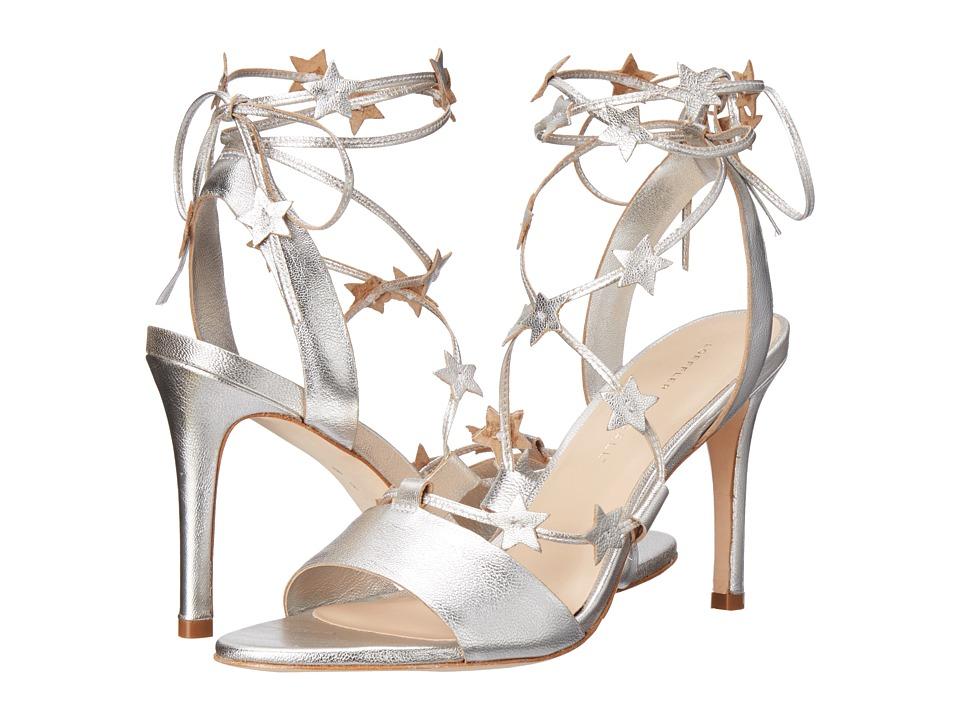 Loeffler Randall Arielle Silver Goat Womens Shoes
