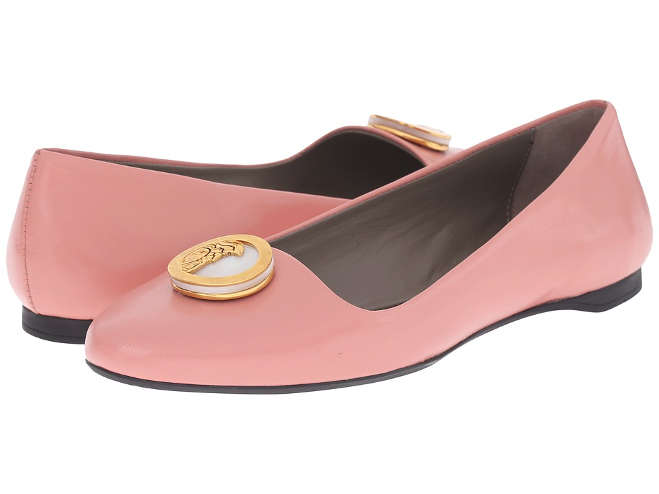 Versace Collection Oro Bizantino Flat Rosa Womens Flat Shoes