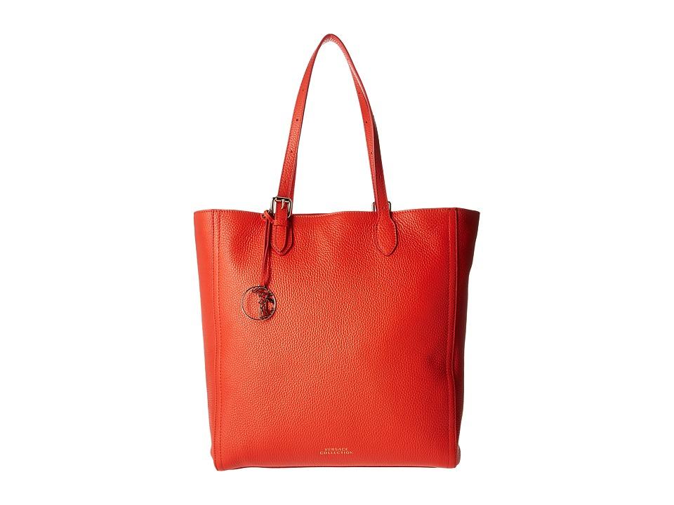 Versace Collection - Oro Chiaro Tote (Corallo) Tote Handbags