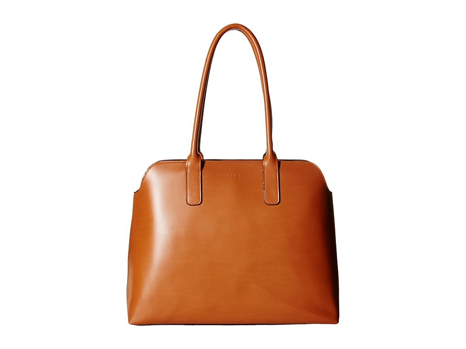 Lodis Accessories - Audrey Ivana Work Tote (Toffee/Chocolate) Satchel Handbags