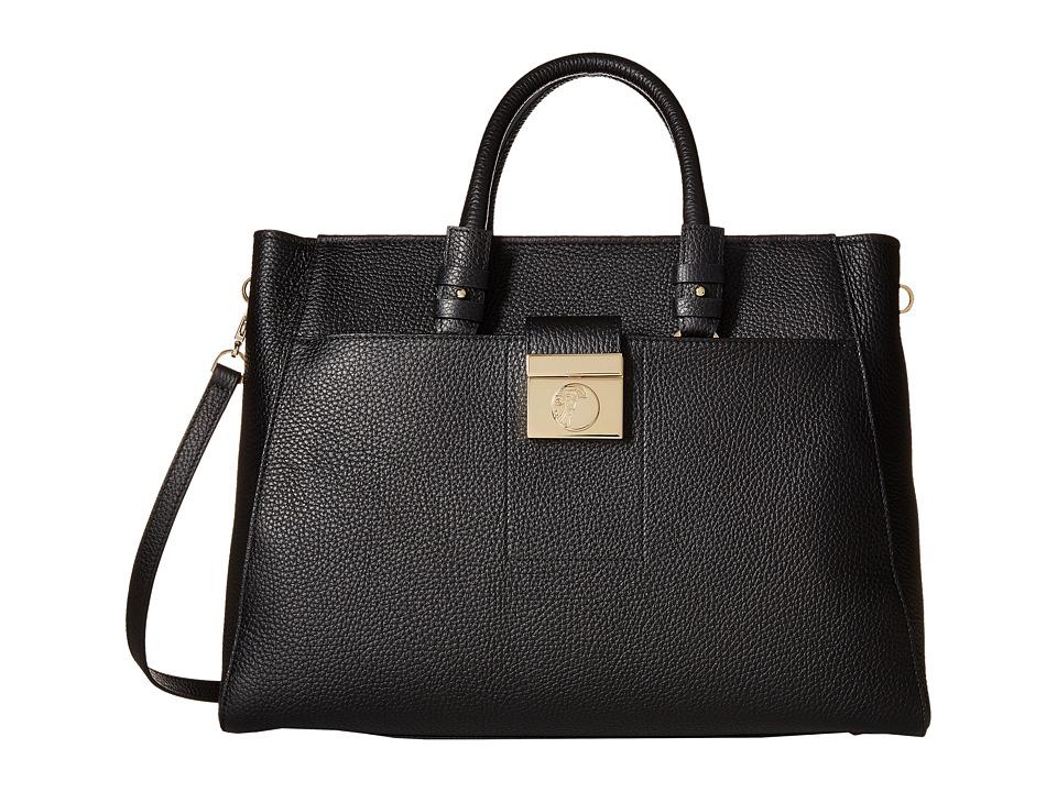 Versace Collection - Oro Chiaro Satchel (Nero) Satchel Handbags