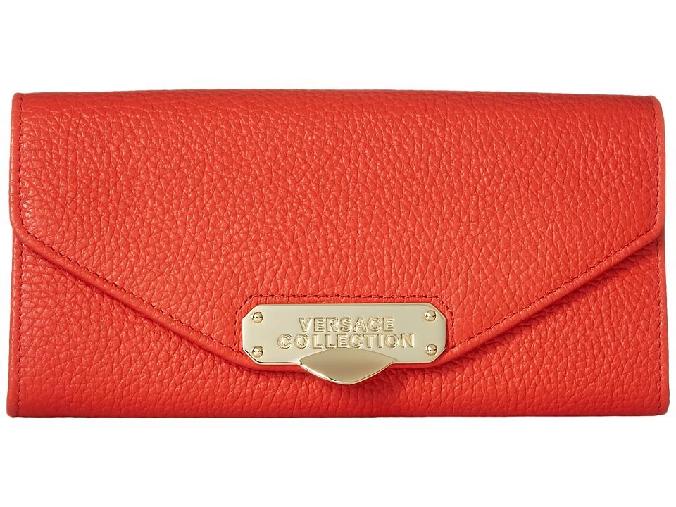 Versace Collection - Oro Chiaro Chain Crossbody (Corallo) Cross Body Handbags