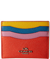 COACH - Color Block Flat Card Case