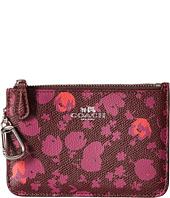 COACH - Floral Key Pouch