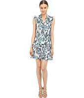 Just Cavalli - Onirica Ruffled Printed Sleeveless Dress