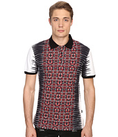 Just Cavalli - Nitik Print Short Sleeve Polo