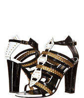 Just Cavalli - Calf and Patent Leather with Laminated Leather