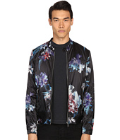 Just Cavalli - Tropical Ikat Print Nylon Bomber