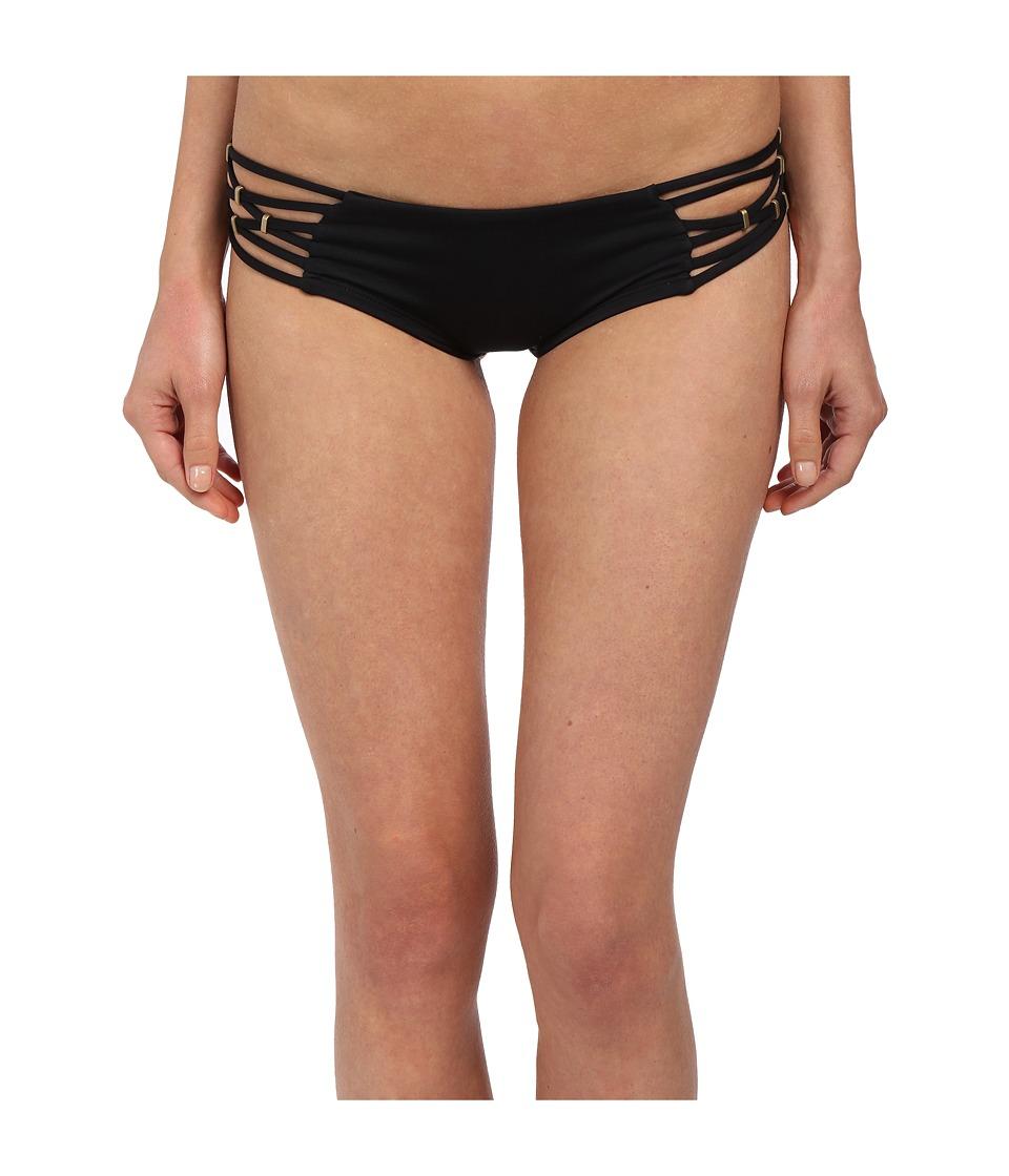 Vitamin A Swimwear Amber Boyshorts Eco Black Womens Swimwear