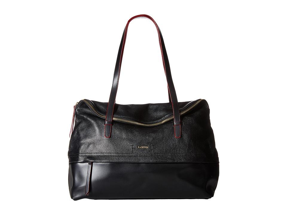 Lodis Accessories - Kate Giselle Work Tote (Black) Tote Handbags