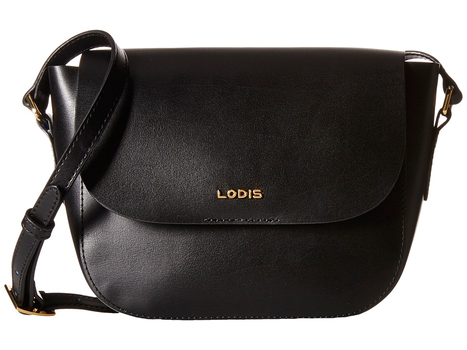 Lodis Accessories - Blair Bailey Crossbody (Black/Cobalt) Cross Body Handbags