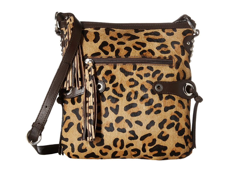Scully Bernette Leopard Print Bag Multi Bags