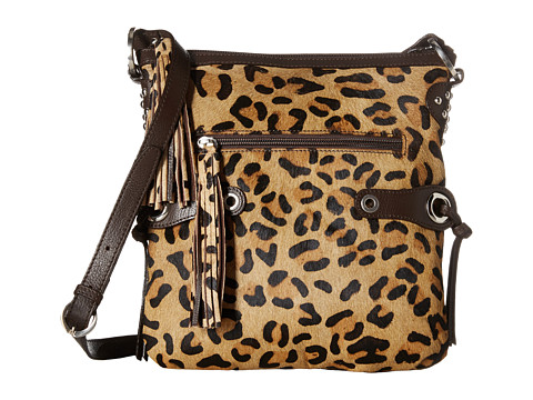 Scully Bernette Leopard Print Bag - Multi
