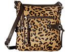 Scully Bernette Leopard Print Bag