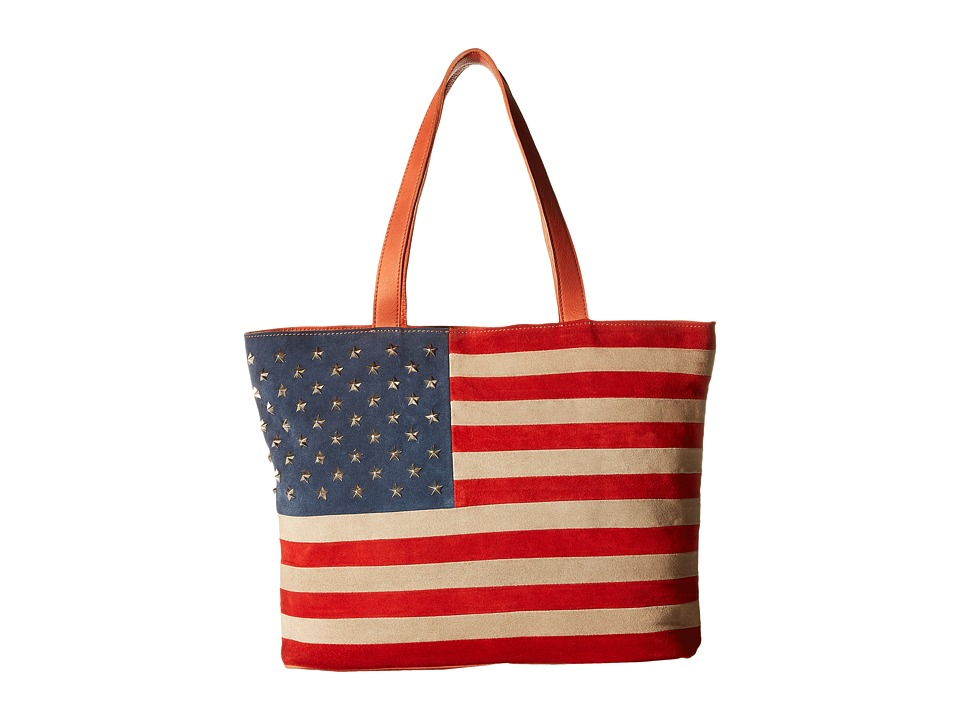 Scully - Rockin America Tote Bag (Multi) Tote Handbags