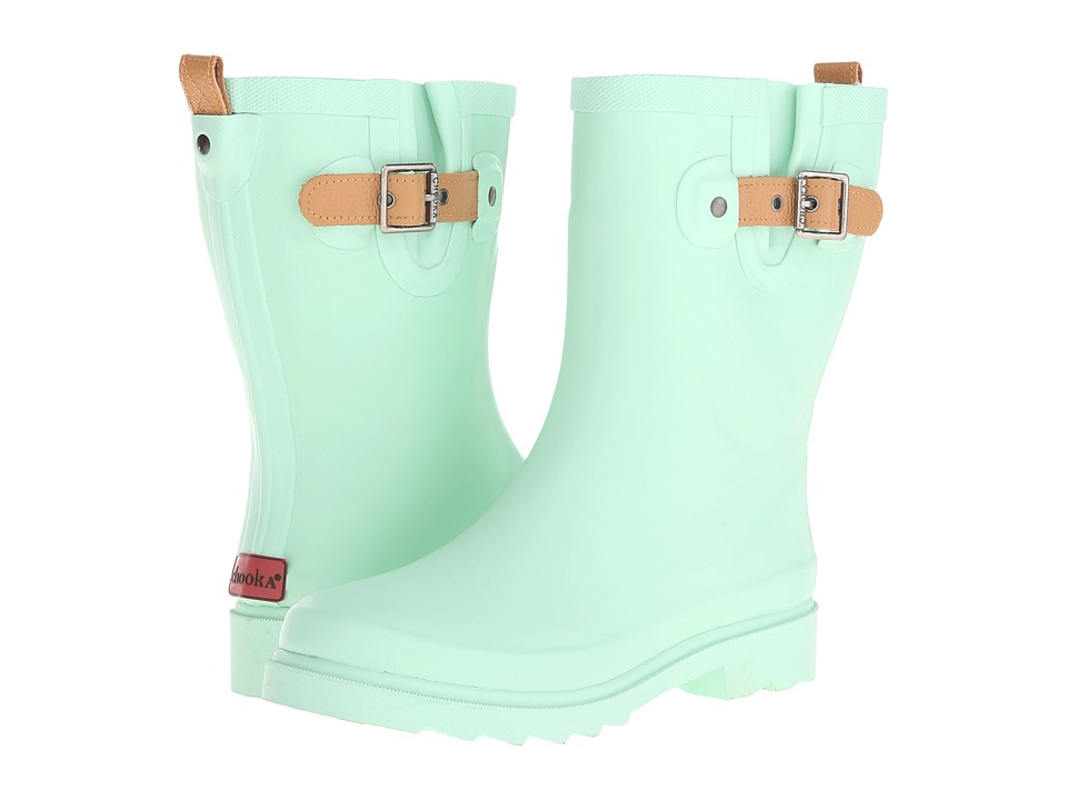 Chooka - Top Solid Mid Rain Boot (Mint 2) Women