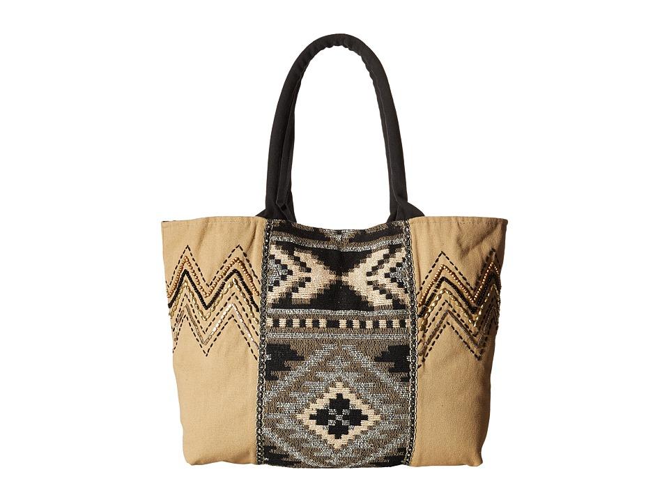 Scully Daniela Tote Taupe Tote Handbags