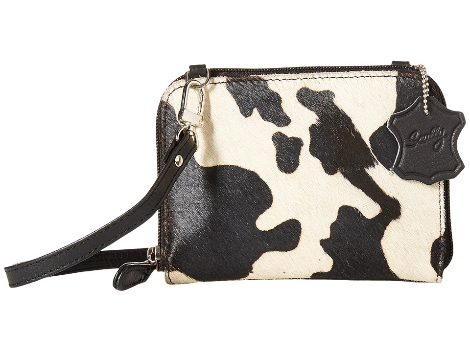 Scully - Night On The Town Mini Purse (Black/White) Handbags