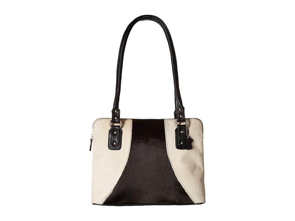 Scully Abella Purse Black/White Handbags