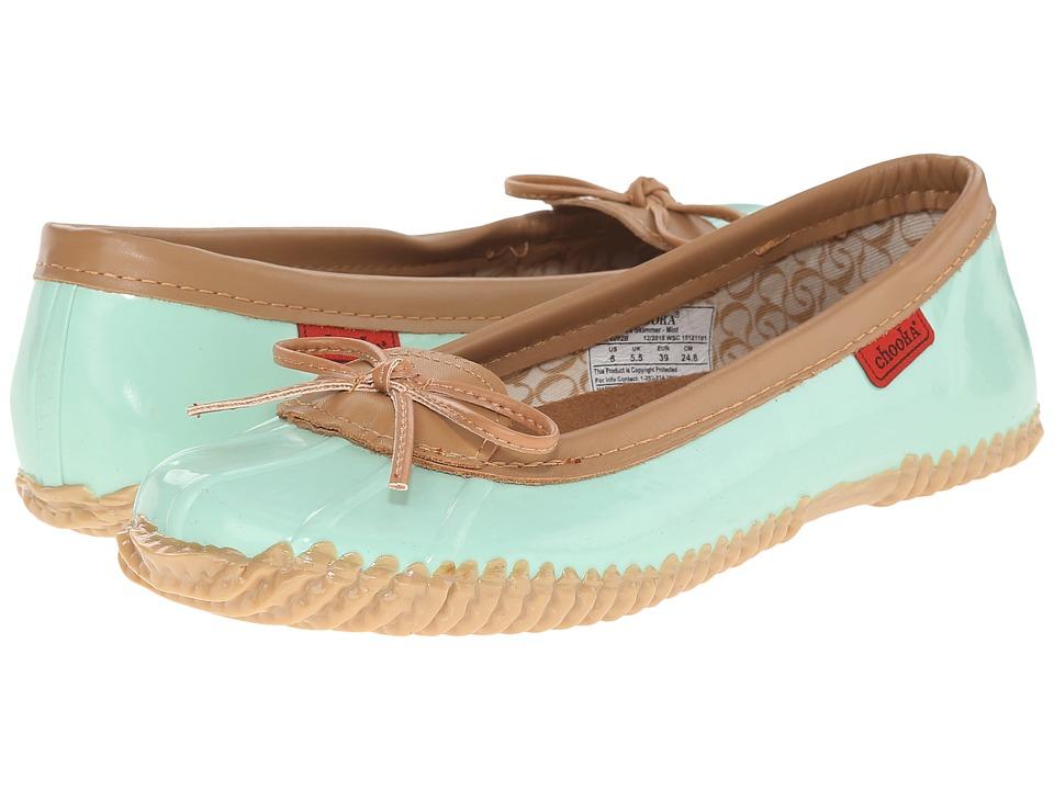 Chooka Duck Skimmer Mint Womens Flat Shoes