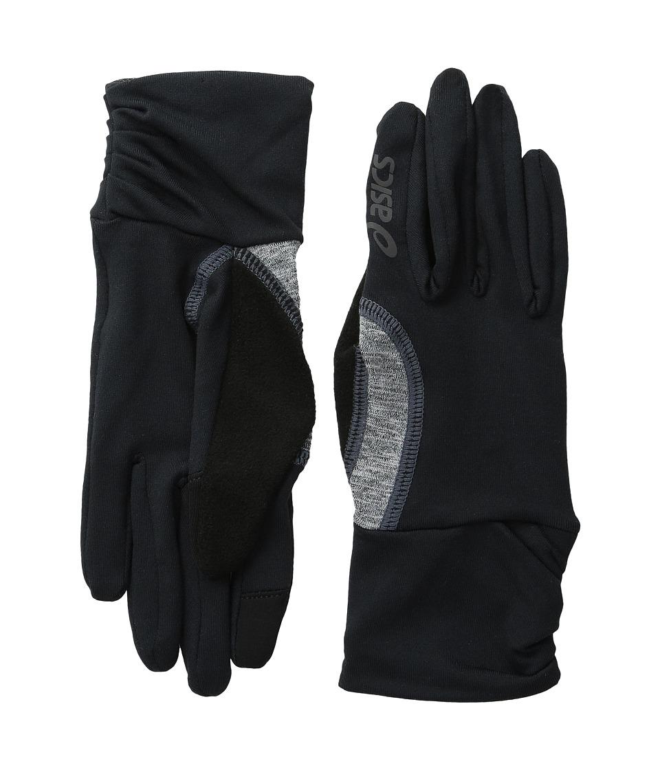 ASICS Felicity Fleece Glove Black/Grey Heather Extreme Cold Weather Gloves