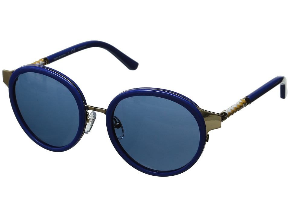 Tory Burch 0TY6042Q Gold/Cobalt/Blue Solid Fashion Sunglasses
