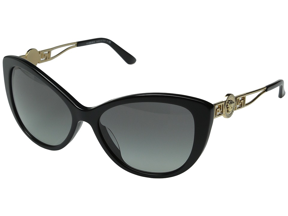 Versace VE4295A Black/Grey Gradient Fashion Sunglasses