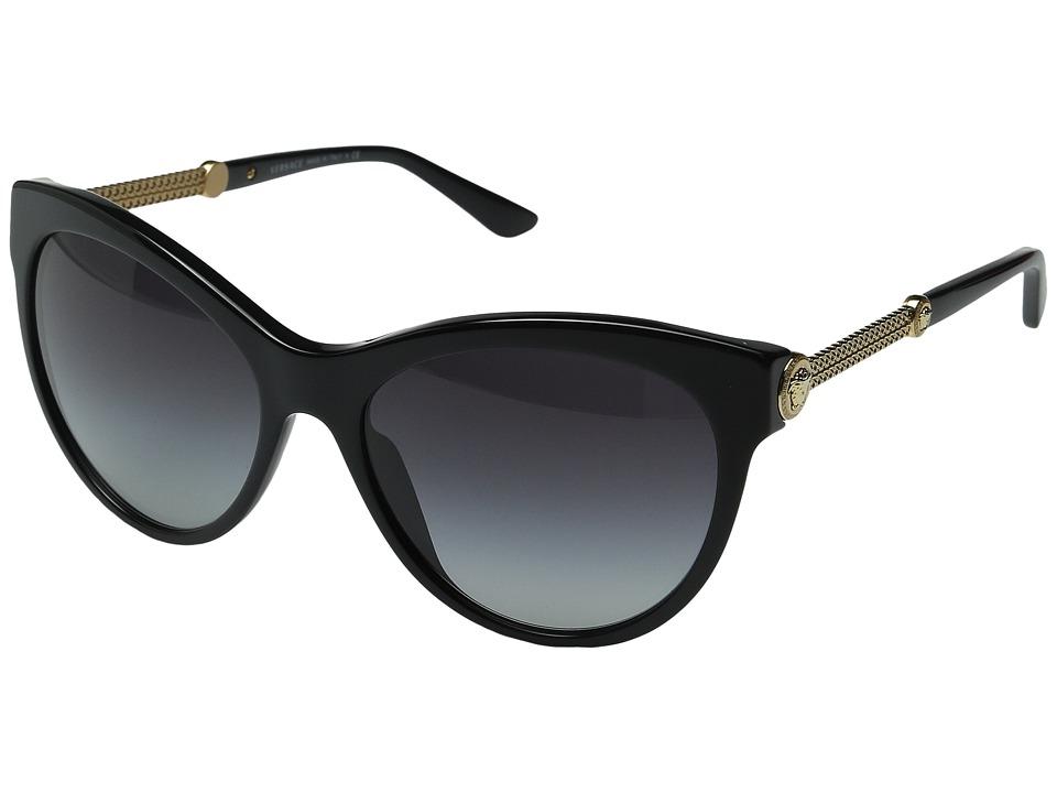 Versace VE4292 Black/Grey Gradient Fashion Sunglasses