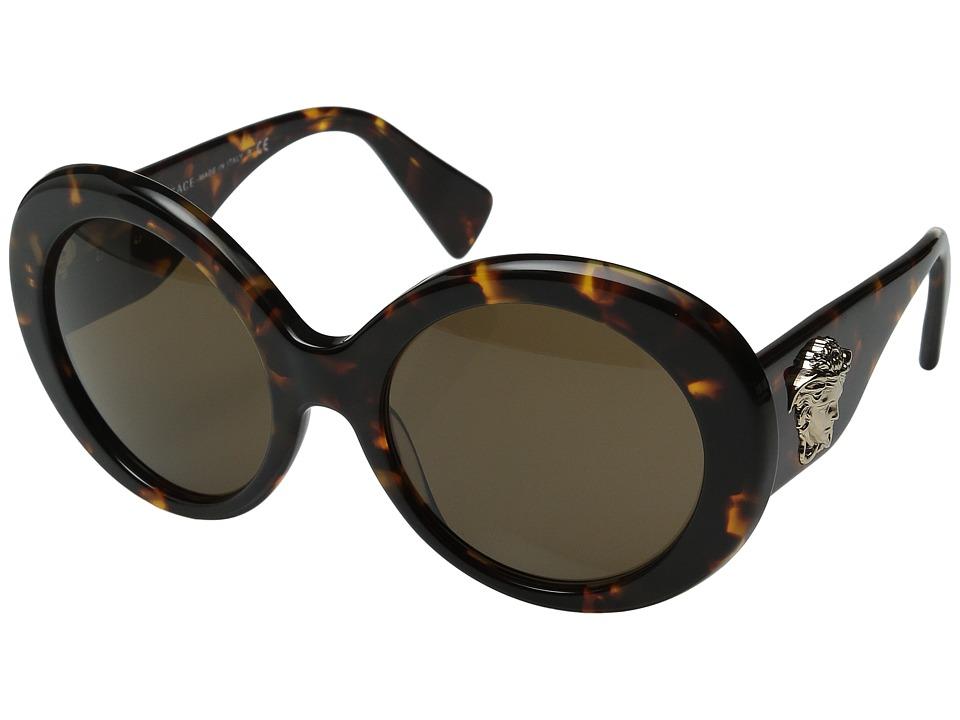 Versace VE4298 Havana/Brown Fashion Sunglasses