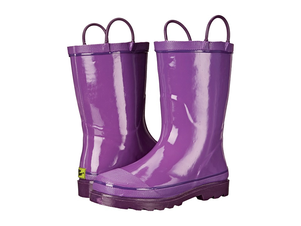 Western Chief Kids Firechief 2 Rain Boot (Toddler/Little Kid/Big Kid) (Grape) Girls Shoes