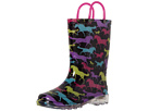 Western Chief Kids Horse Dreams Lighted Rain Boot (Toddler/Little Kid)