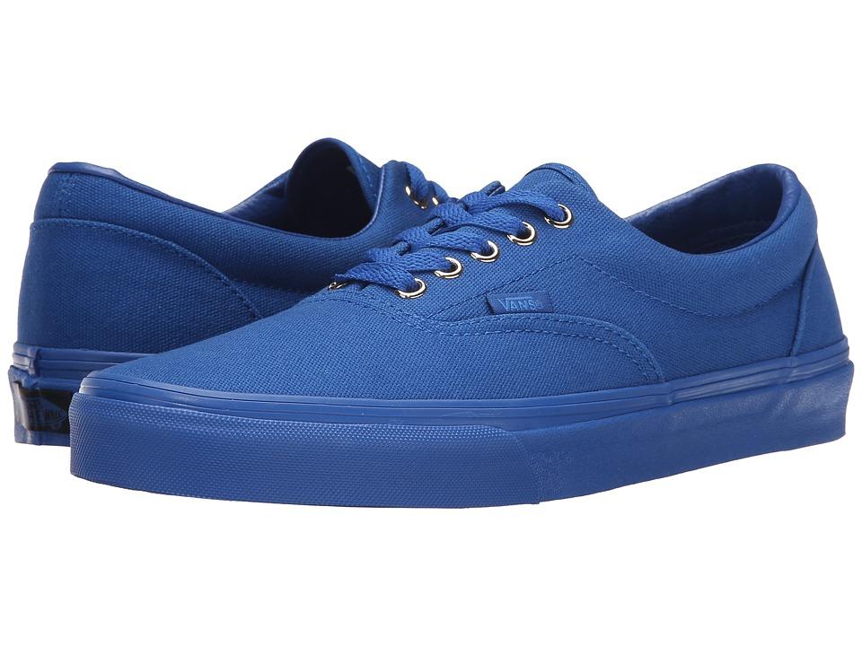 Vans Era Gold Mono Nautical Blue Skate Shoes