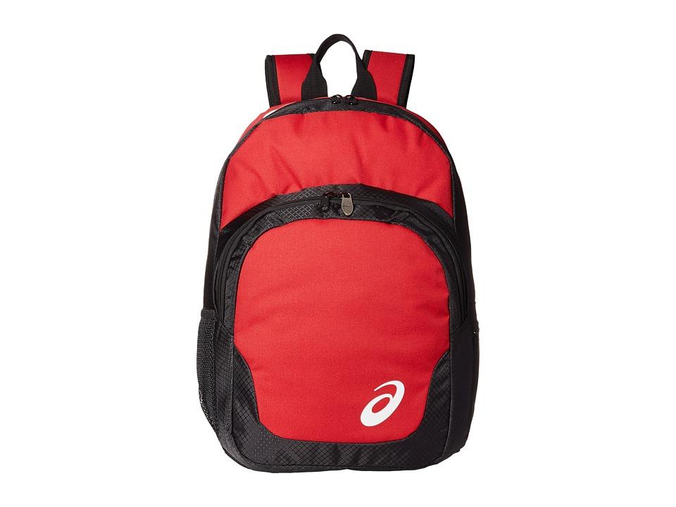 ASICS - ASICS Team Backpack (Red/Black) Backpack Bags