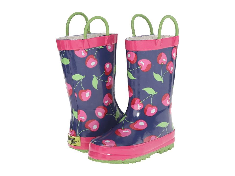 Western Chief Kids Sweet Cherries Toddler/Little Kid/Big Kid Navy Girls Shoes