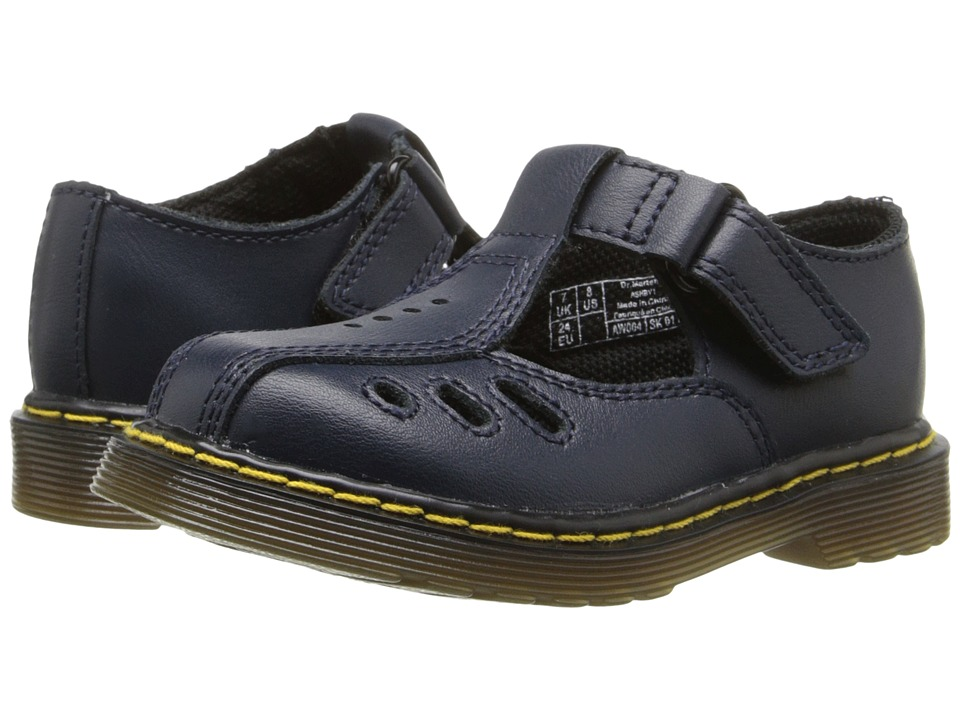 Dr. Martens Kids Collection Ashby I Toddler Navy Girls Shoes