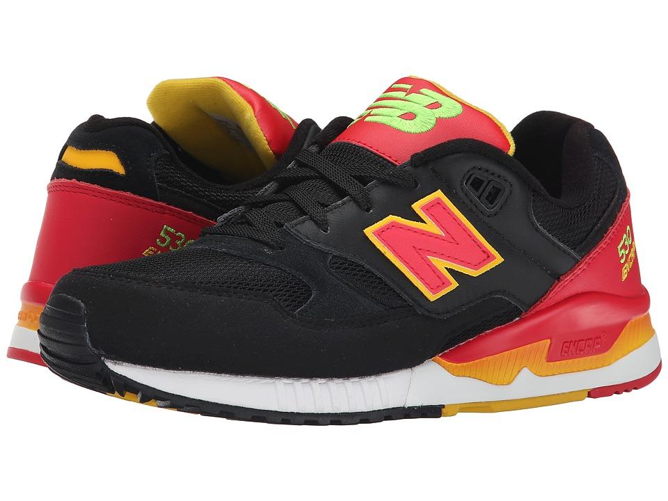 New Balance Classics M530 (Black/Red) Men