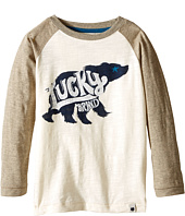 Lucky Brand Kids - Carry On Bear Tee (Toddler)