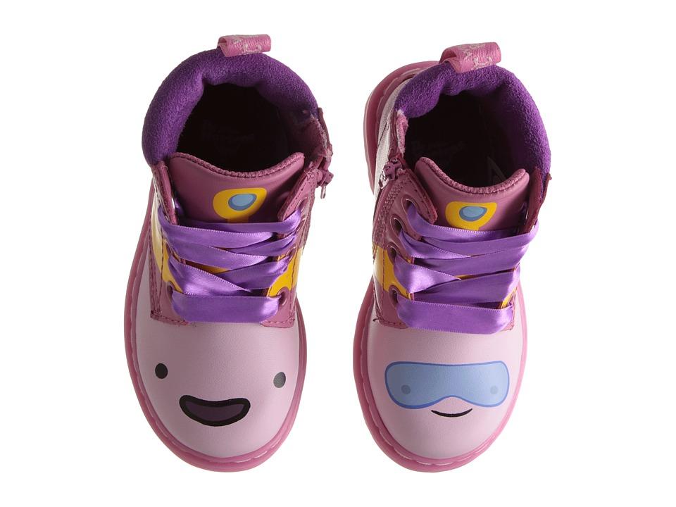 Dr. Martens Kids Collection Bonbon I Toddler Winter Pink/Candy Pink/Black Currant/Princess Bubblegum Girls Shoes