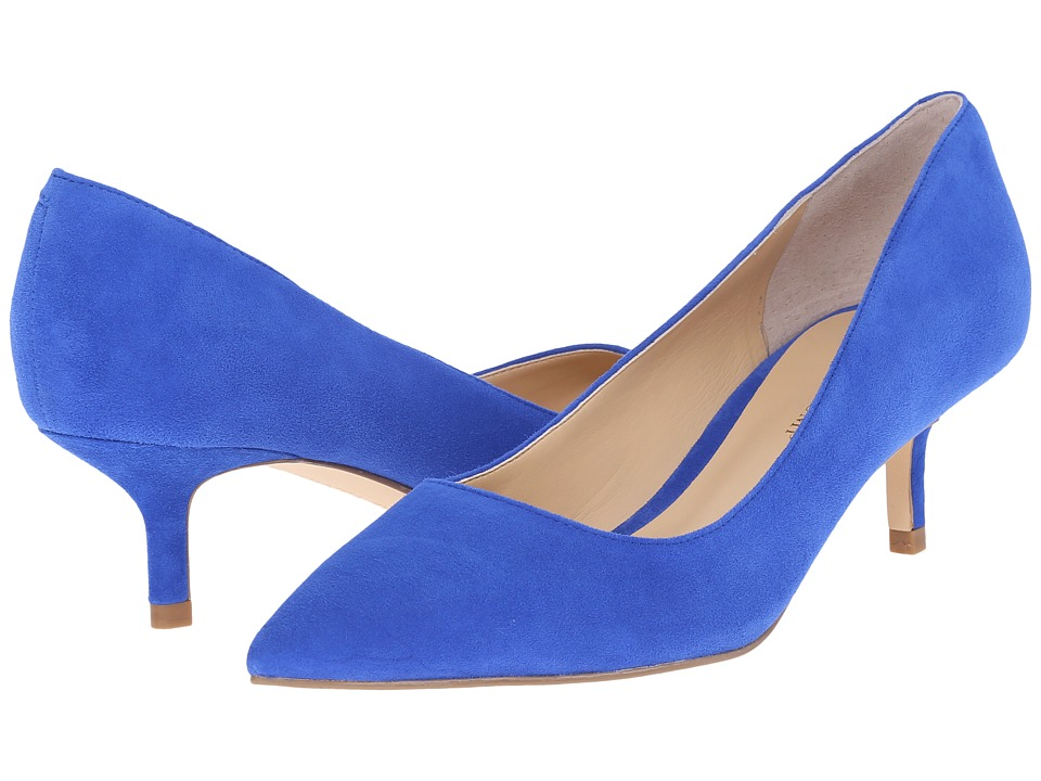 Ivanka Trump Athyna Bright Sapphire Suede Womens Shoes