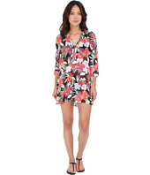 Tommy Bahama - Victoria Blooms Mandarin Collar Tunic Cover-Up