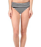 Tommy Bahama - Black & White Stripes High Waist Sash Pants
