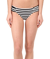 Tommy Bahama - Black & White Stripes Side Shirred Hipster Bottoms