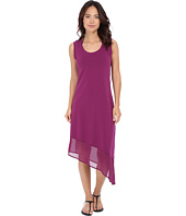 Tommy Bahama - Knit & Chiffon Scoop Neck Tea Length Dress Cover-Up