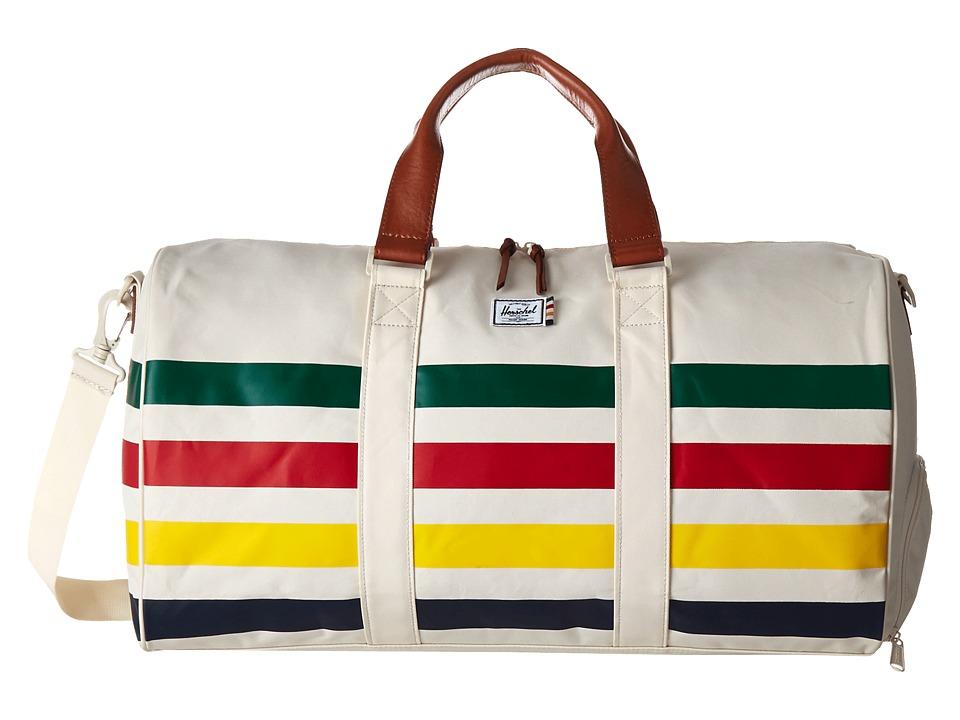 Herschel Supply Co. - Novel (HBC Offset Stripe) Duffel Bags