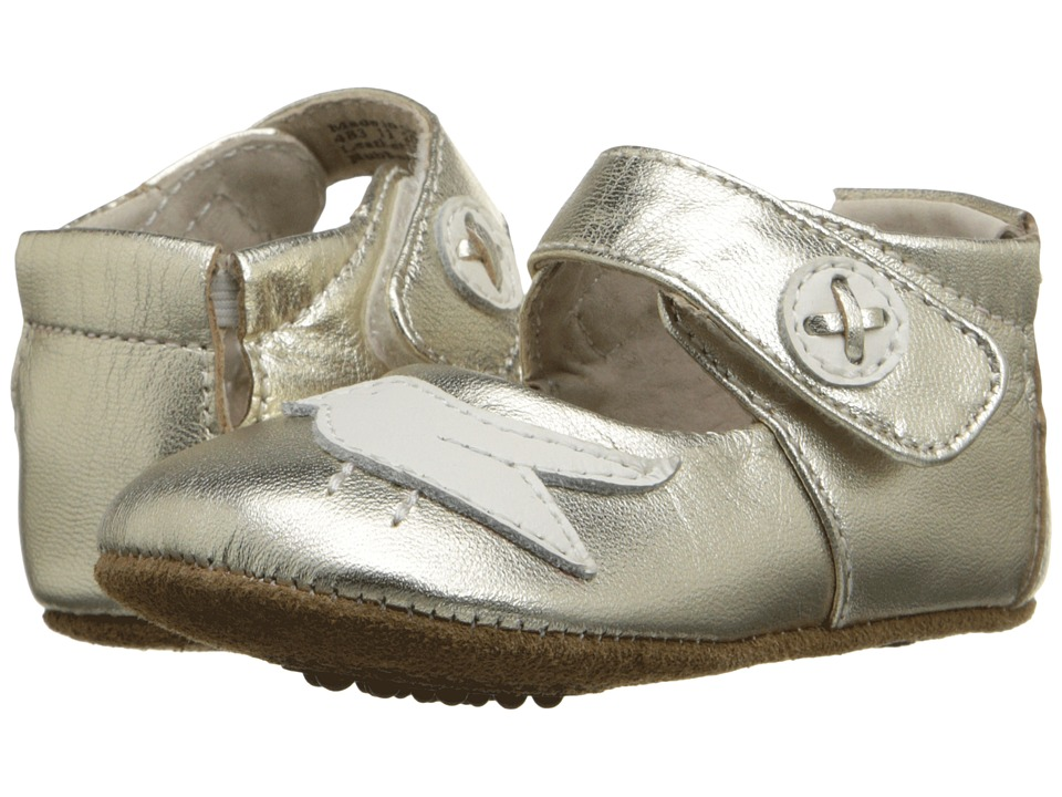 Livie + Luca Pio Pio (Infant) (Silver Metallic) Girl's Shoes