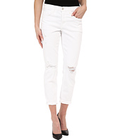 J Brand - Mid-Rise Slim Boy Fit in White Dreams
